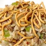 Chow Mein Hamburger Hot Dish Forks N Flip Flops