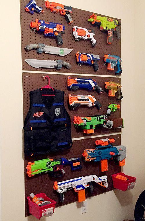 diy-nerf-gun-wall