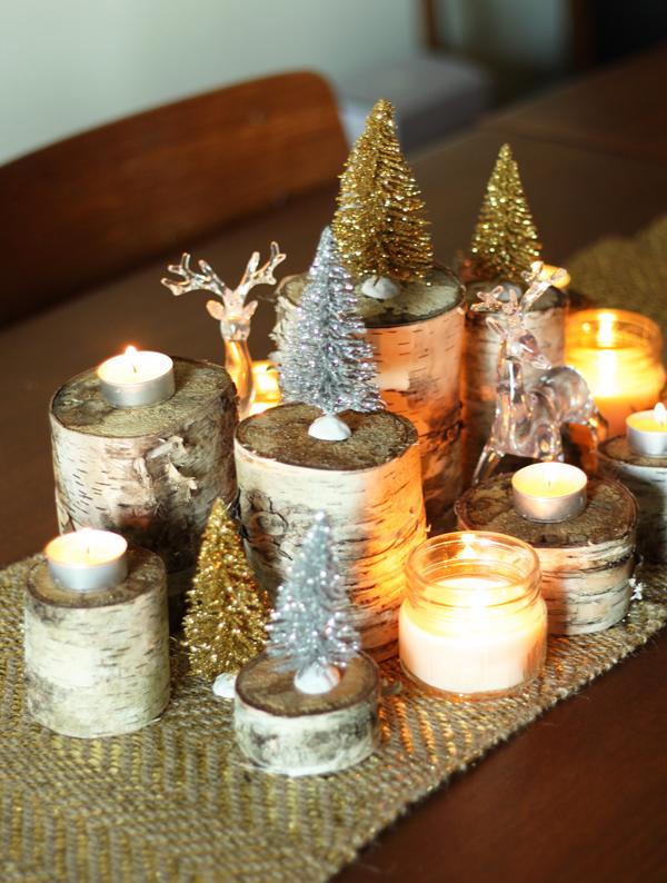 Plastic Christmas Cake Decorations Raindeer