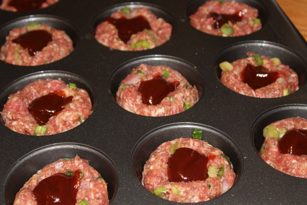 Mini Barbecue Meat Loaves