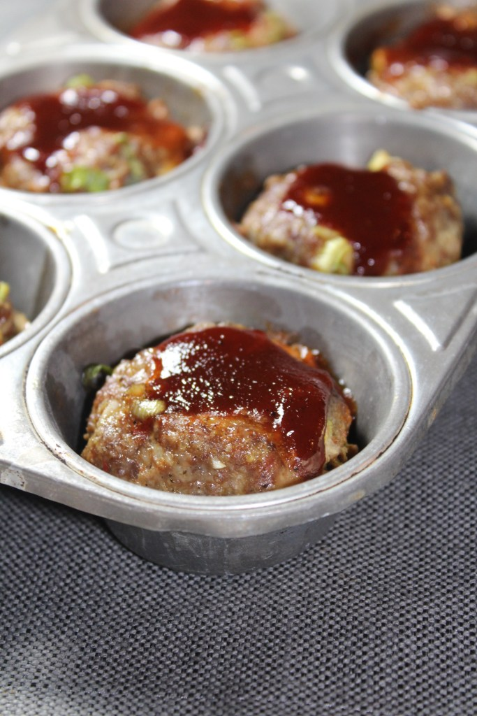 Mini BBQ Meatloaf