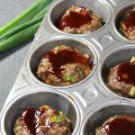 Mini BBQ Meatloaf