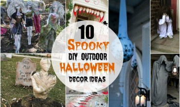 Spooky DIY Outdoor Halloween Decor Ideas