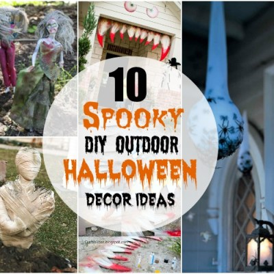 Spooky DIY Outdoor Halloween Decor Ideas