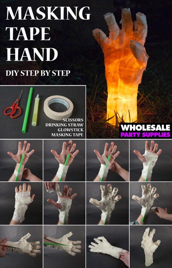 Masking Tape Hand