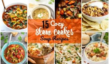 15 Cozy Slow Cooker Soup Recipes