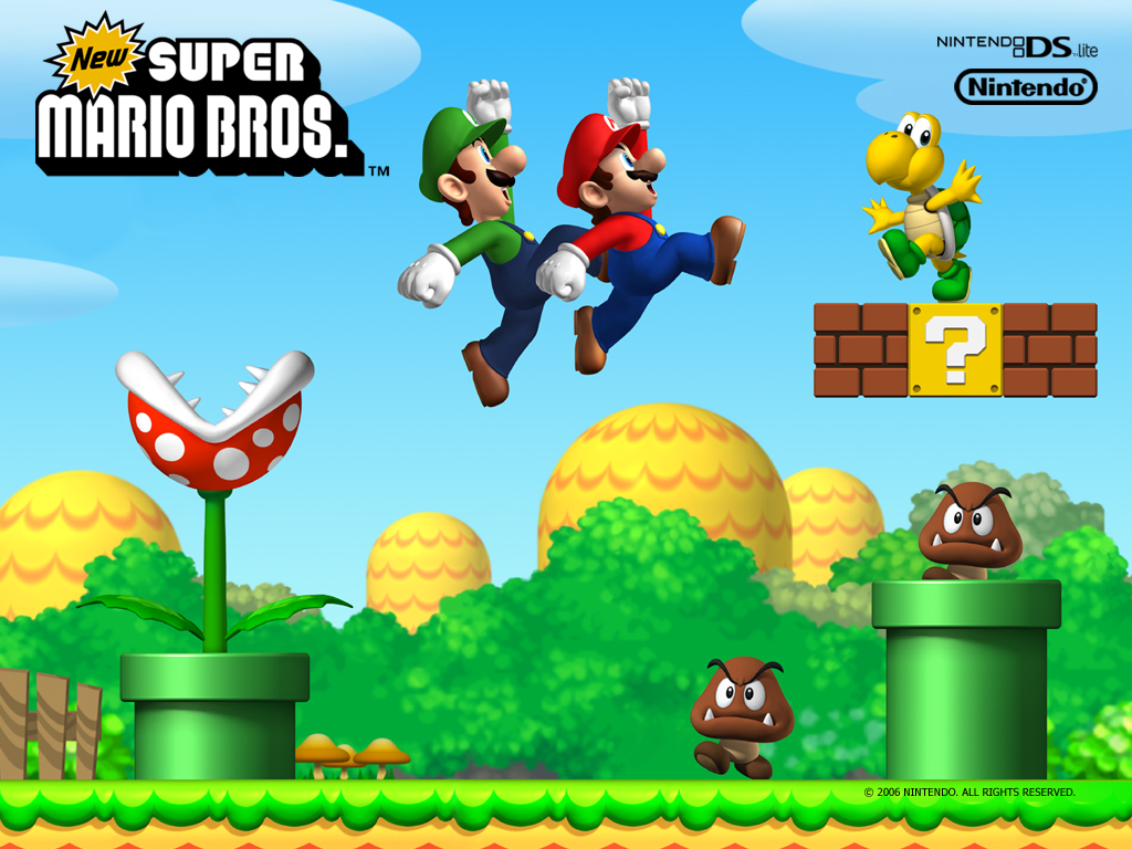 Super Mario Brothers  For Lacquer Of A Better Name