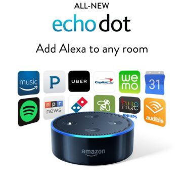 All-New Echo Dot (2nd Generation) - Black or White