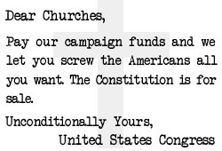 Church Tax Exemption, The Unpunished American Treason