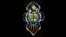 Vitral: El Cordero Pascual