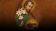 San José custodio de los dos Corazones