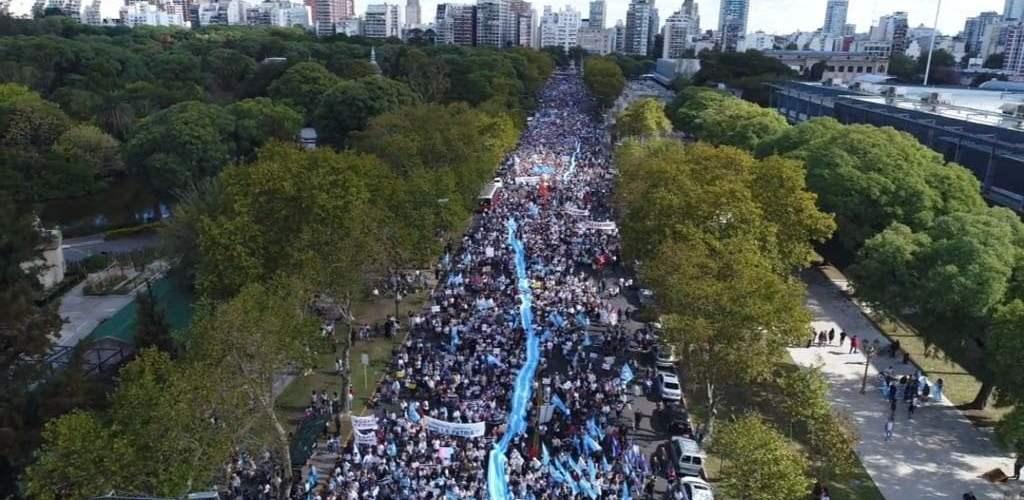 marcha pro vida argentina 2018