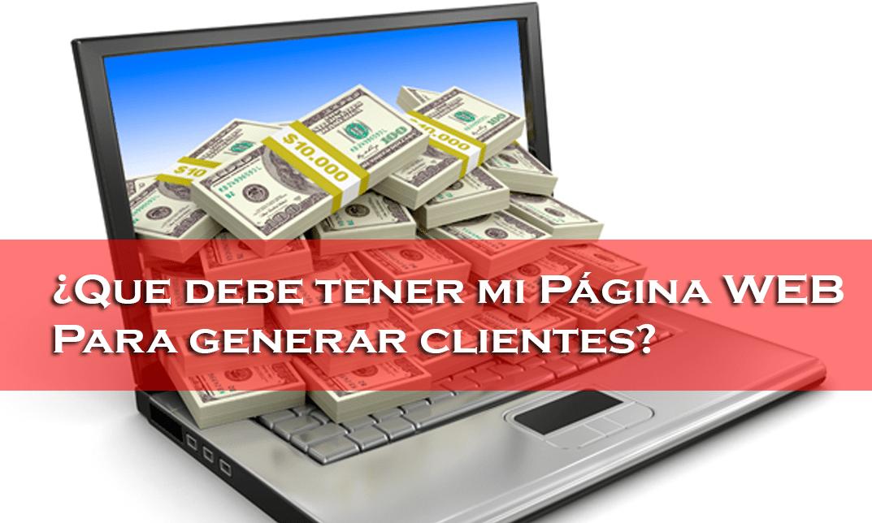 ¿Tener una página Web genera más clientes?