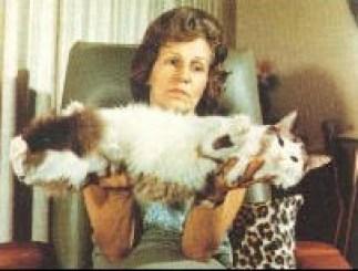 Ann Baker con Raggedy Ann Fugianna