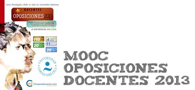 Curso gratis online para oposiciones docentes 2013