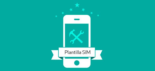 Plantilla cortar SIM a microSIM y Nano Sim gratis