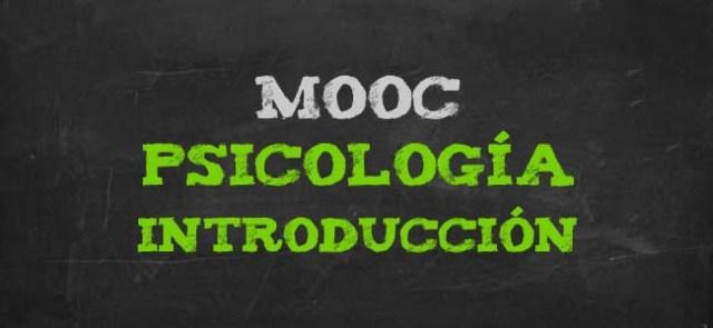 Curso gratis de psicología. MOOC