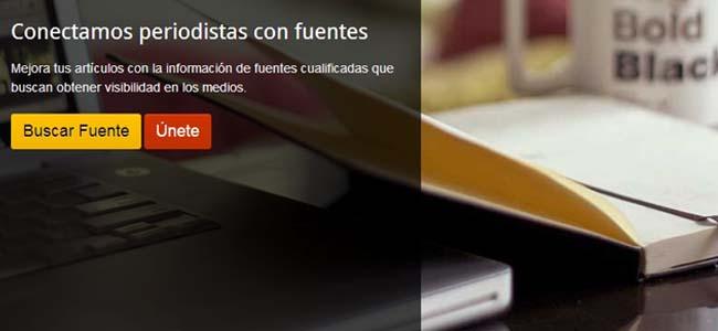 Herramienta gratis para encontrar fuentes para periodistas y bloggers