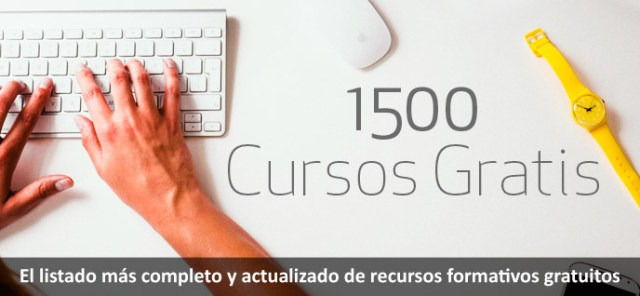 Cursos online gratuitos 2018, lista completa de recursos