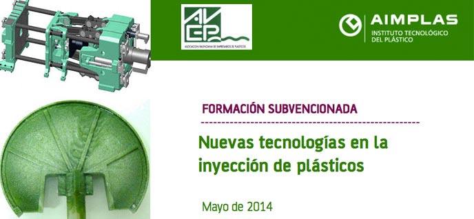 Curso gratis de nuevas tecnologías en la inyección de plásticos