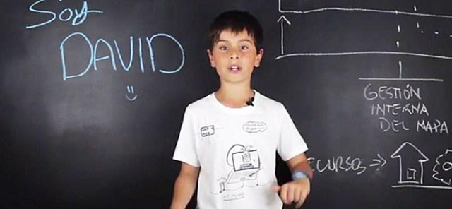 Un niño de 10 años nos enseña desarrollo web