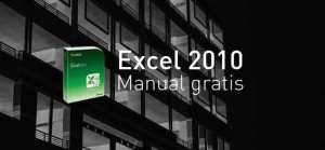 Manual Excel 2010 gratis en pdf