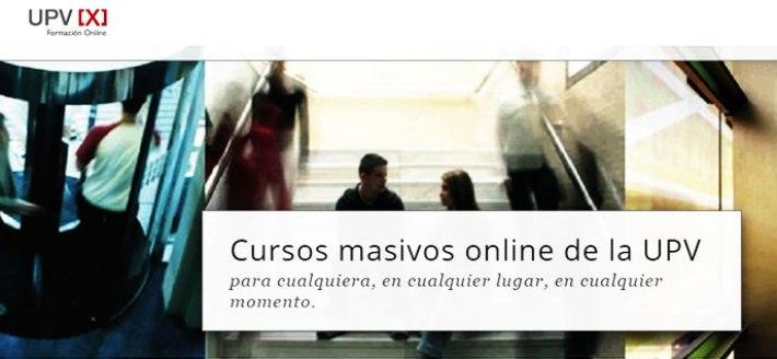 MOOC UPVX, plataforma de cursos MOOC gratis en español de la Universidad Politécnica de Valencia