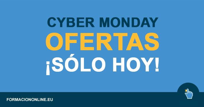 Cyber Monday. Ofertas de cursos increíbles, hasta el 70%!!!