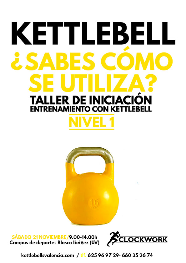 Curso de Kettlebell en Valencia