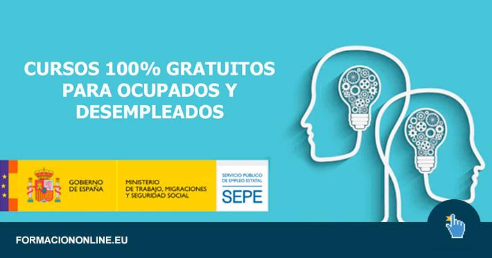 Cursos Gratuitos para Trabajadores y Desempleados del SEPE