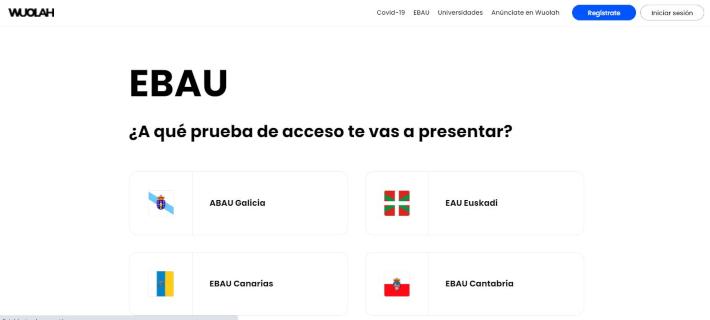 captura de pantalla de apuntes de la EBAU en Wuolah