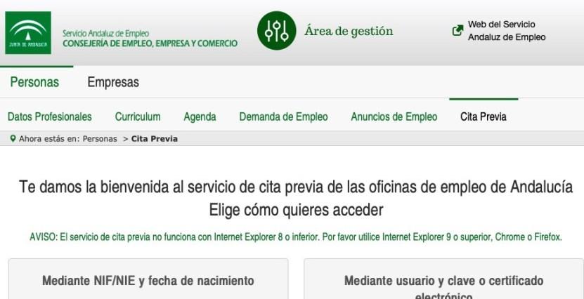 Info Sobre La Cita Previa Sepe Sevilla Descubre Todos Los Pasos