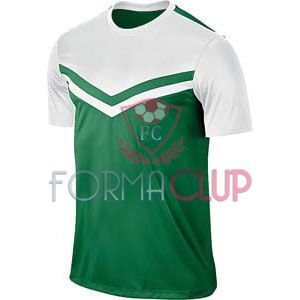 Z Victory II Beyaz/Yeşil Kısa Kol Halı Saha Forma ve Şort(TAKIM)