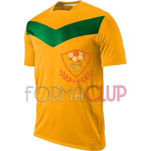 Y 2017 Victory GD Gold Sarı/Yeşil Kısa Kol Halı Saha Forma ve Şort(TAKIM)