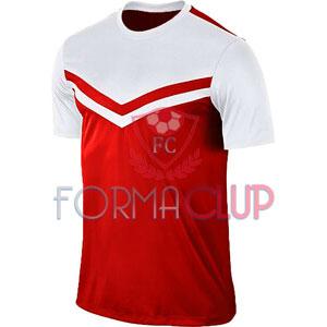 Z Victory II Kırmızı/Beyaz Kısa Kol Halı Saha Forma ve Şort(TAKIM)