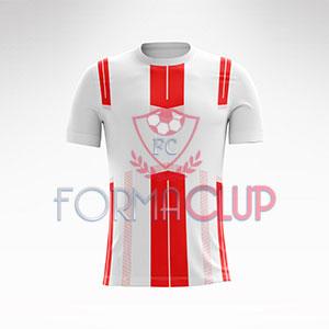 2018 Dortmund Kırmızı/Beyaz Halı Saha Forması + Şort