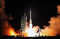 Shenzhou 7 Launch