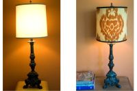 DIY Salvage: making a lamp shade cover