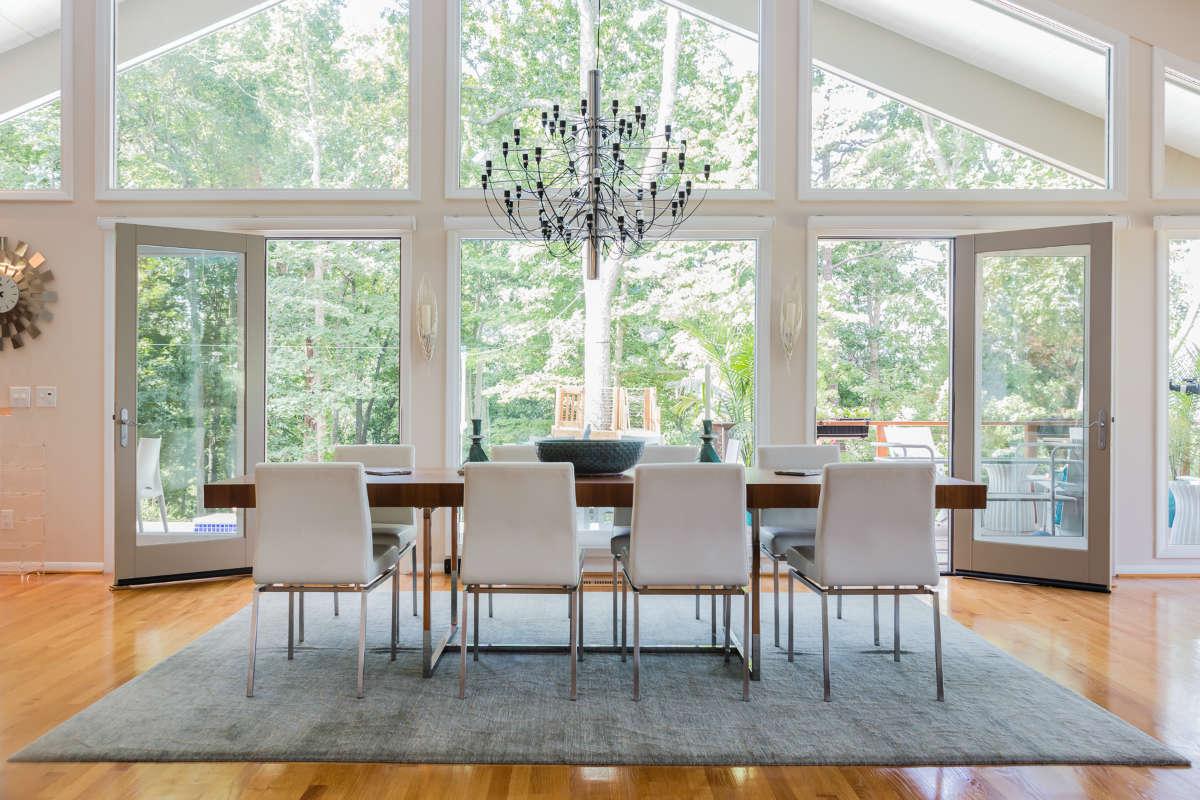 Asheville NC Interior Design  Modern Mountain House