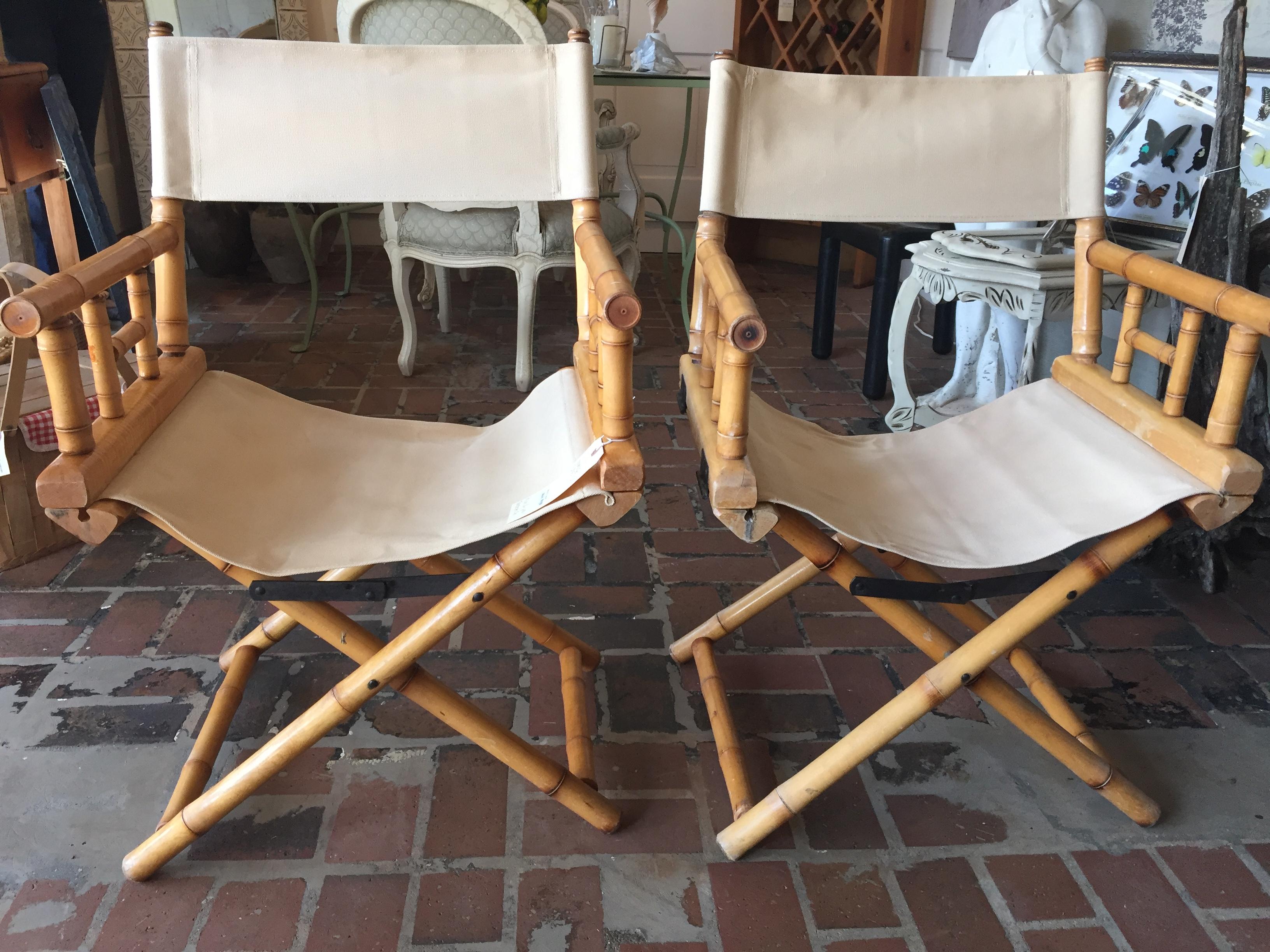 bamboo directors chairs folding chair online flipkart telescope form function