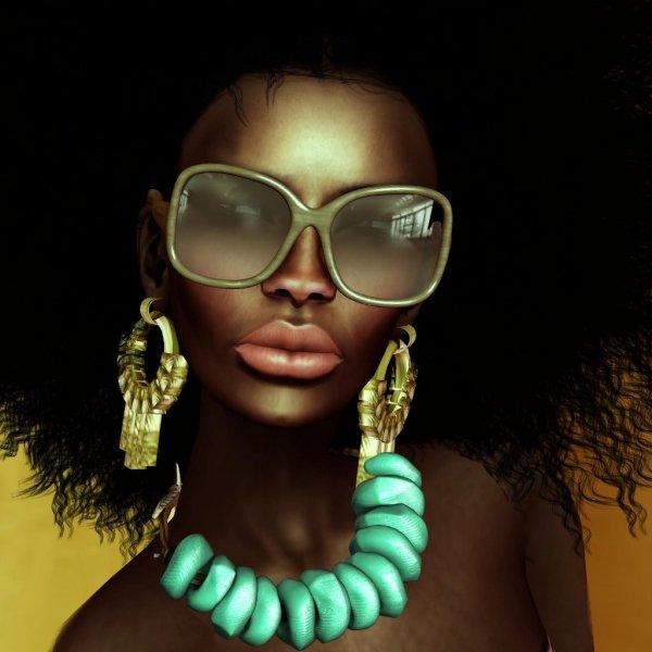 Black Art African American Women Afros