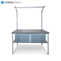 Benchmarx with Custom Blueprint File Cabinet | Formaspace