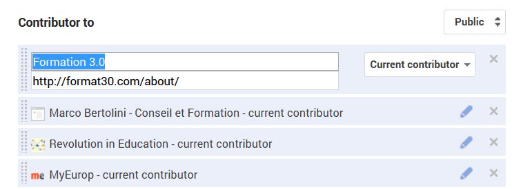 Lien de contributeur vers mon blog Formation 3.0