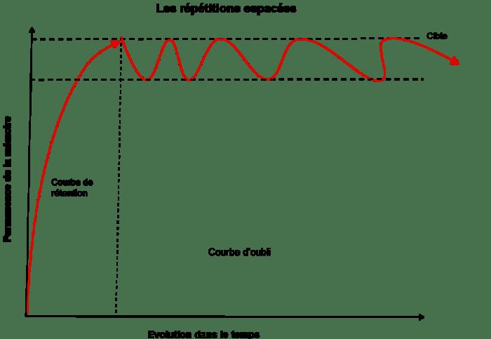 Impact des répétitions espacées
