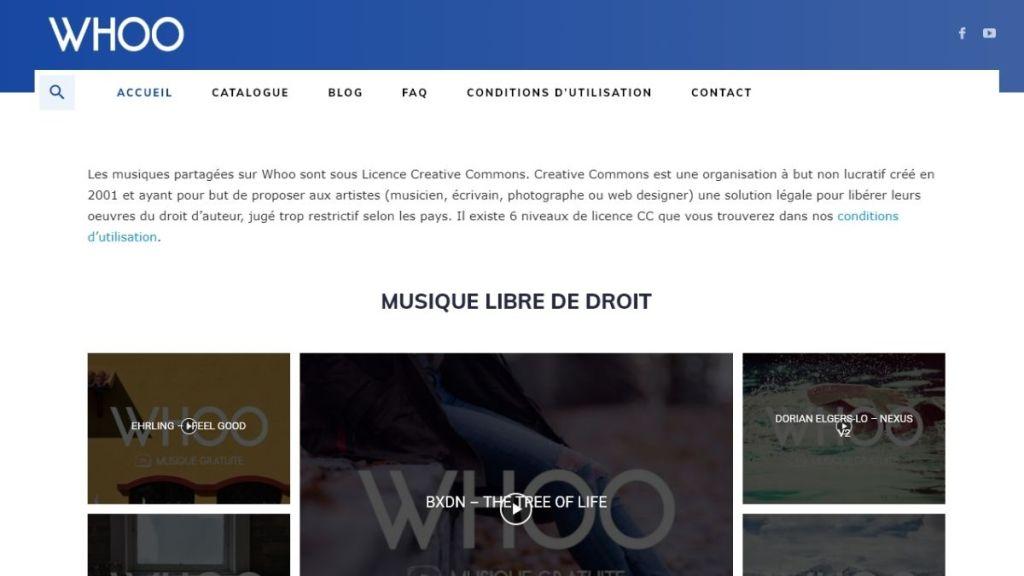 Woo : site de musique gratuite sous licences Creative Commons