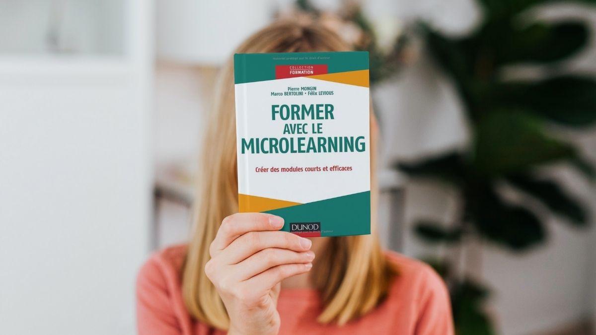 Formez avec le microlearning : couverture du livre