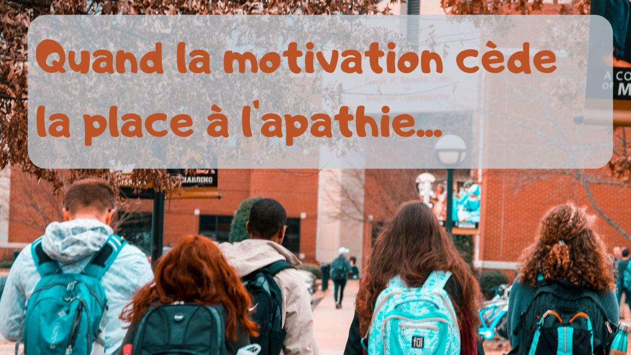 Etudiants démotivés par l'annonce d'une interrogation ou d'un examen
