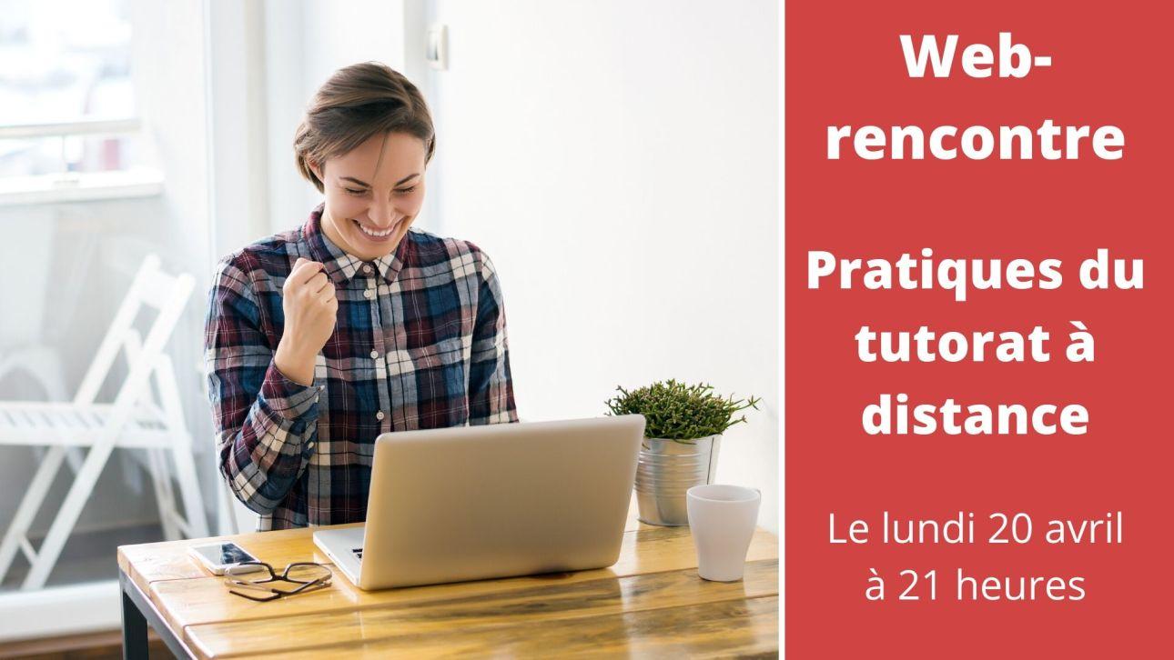 Web-rencontre avec Jaques Rodet sur le livre Pratiques du tutorat à distance