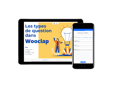 Présentation Wooclap et questions sur un smartphone