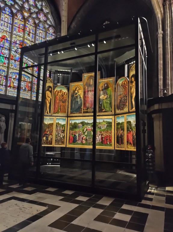 L'Agneau mystique des frères Van Eyck - point culminant de la visite avec réalité augmentée